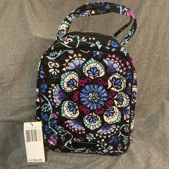 03d691d100 NWT Vera Bradley Lunch Bunch Bramble